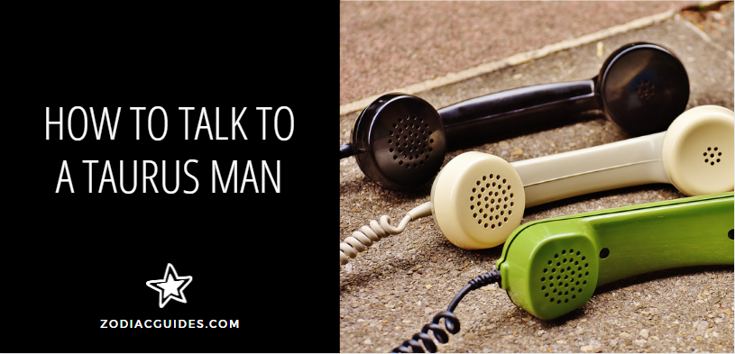 How to Talk to a Taurus Man, three old fashioned telephone receivers on the ground