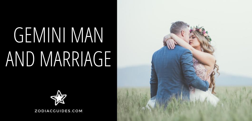 gemini man and marriage
